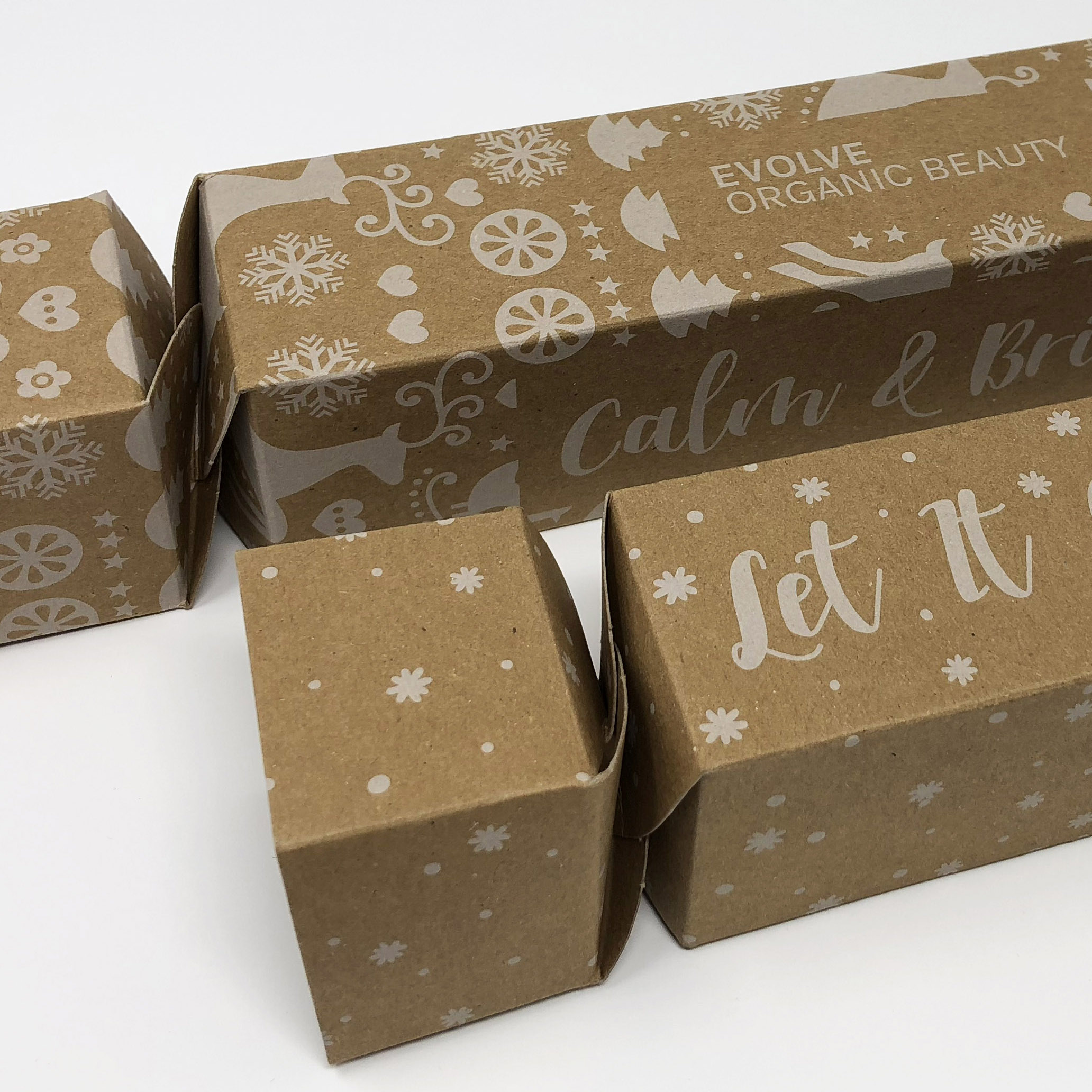 Promotional Printed Christmas Cracker Cartons