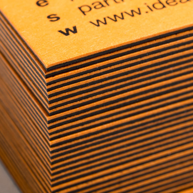 Duplexed Business Cards