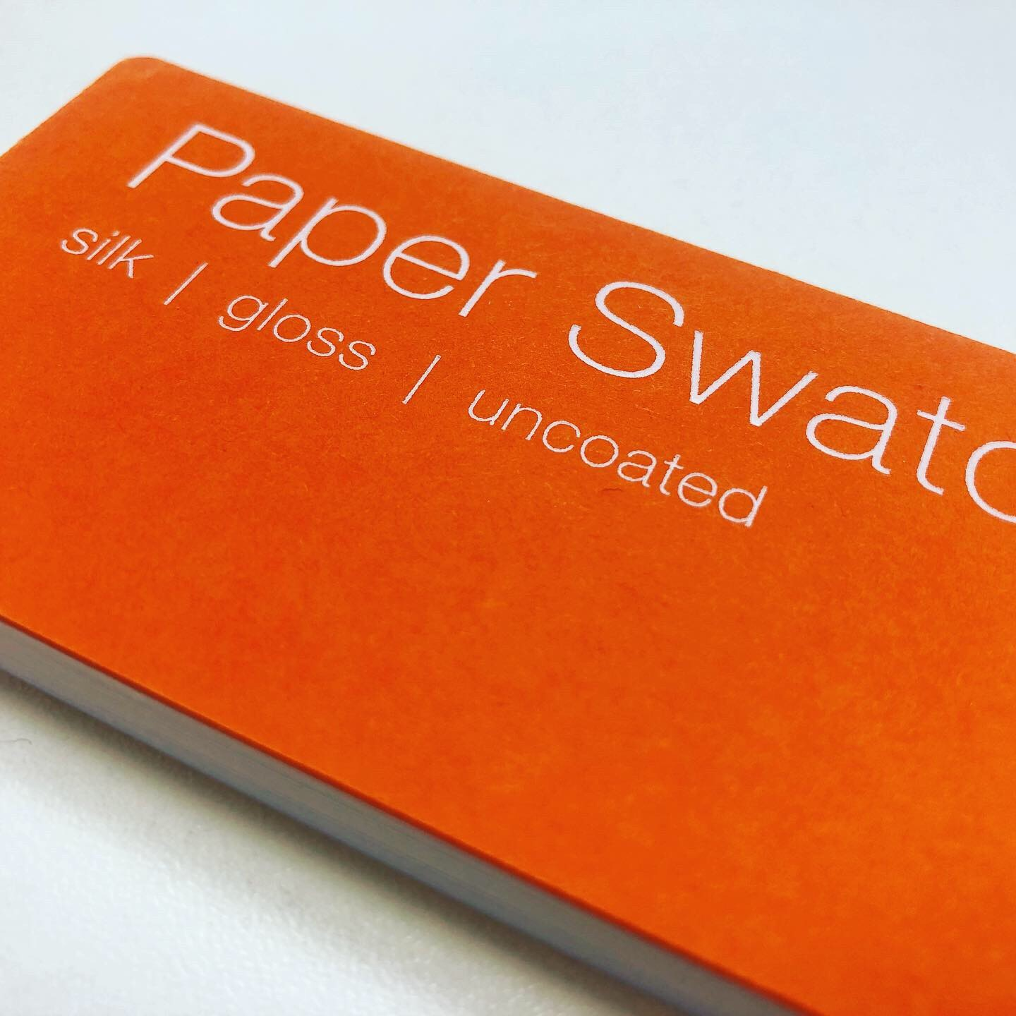 Printed Swatch Book