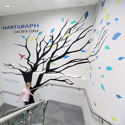 Stairwell Graphics at Hartgraph