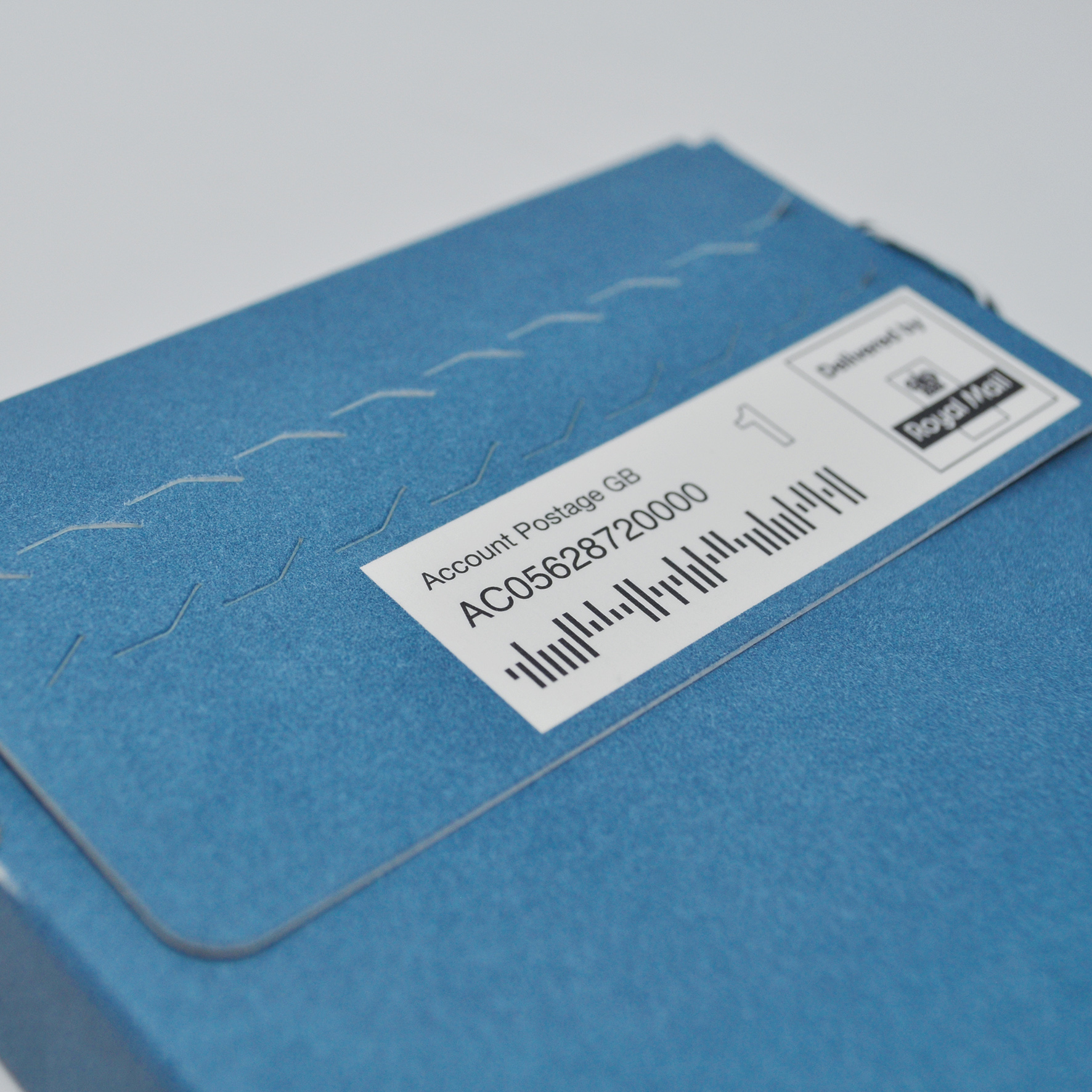 Printed Mailing Box - Seal and Reveal Perforated Strip